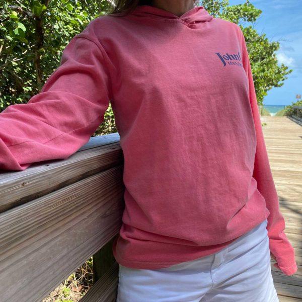 Comfort Long Sleeve Hooded Tee - front
